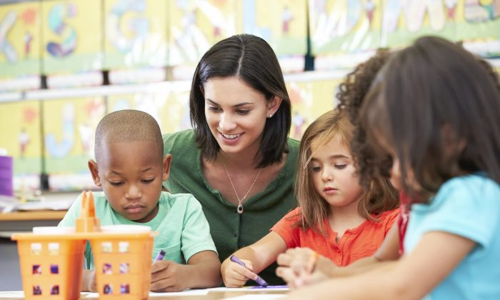 Teachers in early-learning classrooms who were more mindful also reported significantly better health. (Monika Adamczyk/Hemera/Thinkstock)