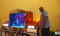 Video: Shaq's Humongous Fish Tank Made From a Real Diesel Truck