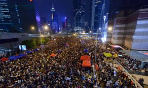 Hong Kong's Chief Executive and Protesters Trade Ultimatums