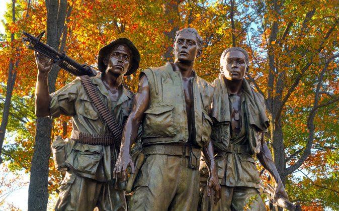 Vietnam veterans memorial. (Shutterstock*)