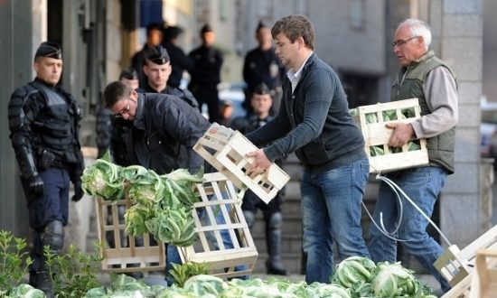The Ire of Breton Vegetable Producers