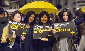 As Hong Kong Stands for Democracy, Rallies Around the World Show Support
