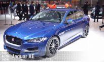 Video: The New Jaguar XE at the Paris Auto Show