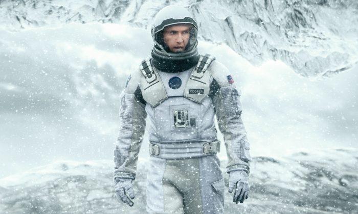 Matthew McConaughey embodies the heroic scientist in Interstellar. (©2014 Paramount Pictures)