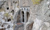 Cave Monastery Carved in Rock
