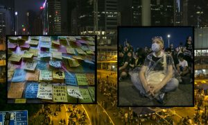 Hong Kong Protesters to Talk With Gov't, but Not If Forced From Streets