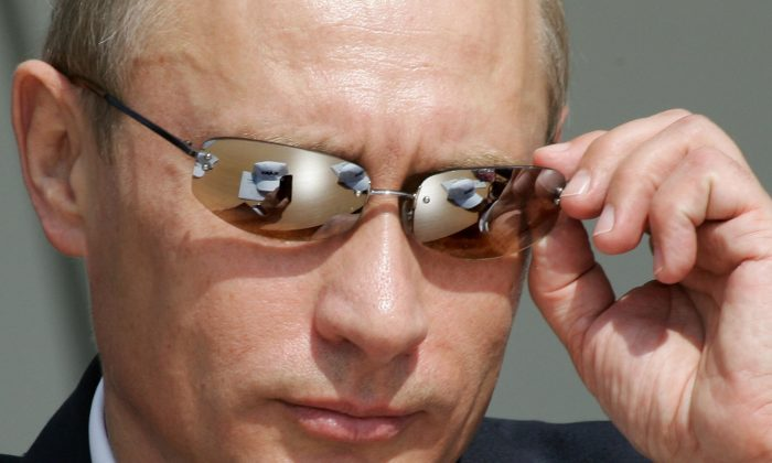 Russian President Vladimir Putin in Aug. 2005. (MLADEN ANTONOV/AFP/Getty Images)
