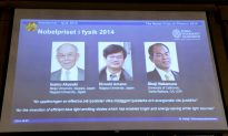 LED Lights Earn Physics Nobel for 3 Scientists