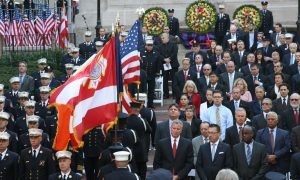 Four Firefighters Died While on Duty Honored at Memorial