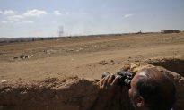 Airstrikes Push Jihadists Back in Syrian Town