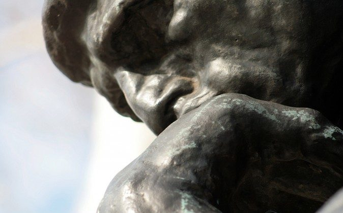 A truly deep thinker must draw on both science and the humanities. (The Thinker by Albino Flea, CC BY-NC)