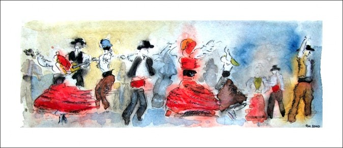 La Danse Folklorique, Raoul Dufy (Guy MOLL, CC BY 2.0)