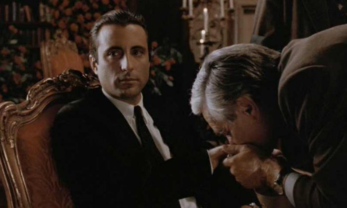 Andy Garcia as the incomparable Vincent Mancini (Corleone)  - the new Godfather