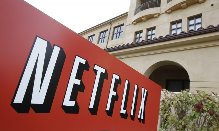 Netfilx headquarters in Los Gatos, Calif., on March 20, 2012. Netflix is expected to release quarterly financial results after the market close on Tuesday, Jan. 20, 2015. (AP Photo/Paul Sakuma)