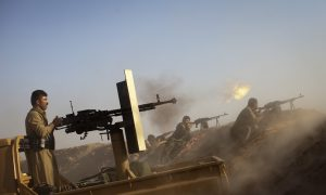 Kurds Hold Position Against ISIL Advance in Syria