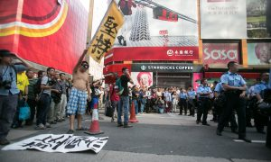 Protesters Comment on Clearing of Mong Kok in Hong Kong