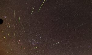 WATCH: One of the Year's Best Meteor Showers, Thanks to Halley's Comet