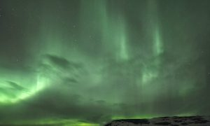 Chasing the Northern Lights (Aurora Borealis) in Iceland