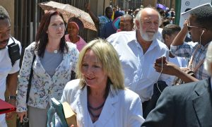 Reeva Steenkamp Parents Reaction to Oscar Pistorius Jail Sentence: June Steenkamp and Barry Steenkamp React