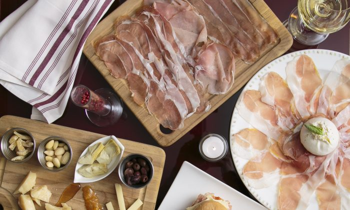 Osteria del Principe, in the Flatiron District, offers authentic Italian bites. (Samira Bouaou/Epoch Times)