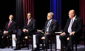 Cuomo on the Offensive in Sole Televised Debate