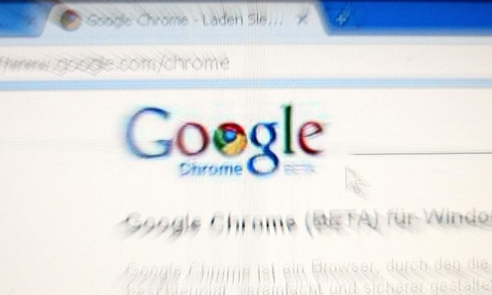 In this photo illustration Google's Chrome, Google Inc.'s new Web browser is displayed on an laptop. (Alexander Hassenstein/Getty Images)