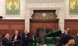 Mom of Suspect in Canada ParliamentShooting: I Cry for Victims, Not Son