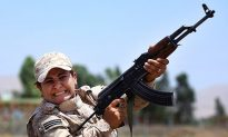 Female Soldiers Rare in the Muslim World, but Now Fight Islamic State