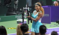 World No. 1 Serena Williams Wins the World Championship Title in Singapore