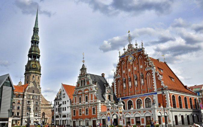 St. Peter's Church in Riga (Shutterstock*)