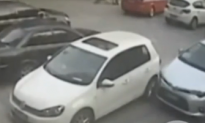 This Man Is Really Bad at Parking (Video)