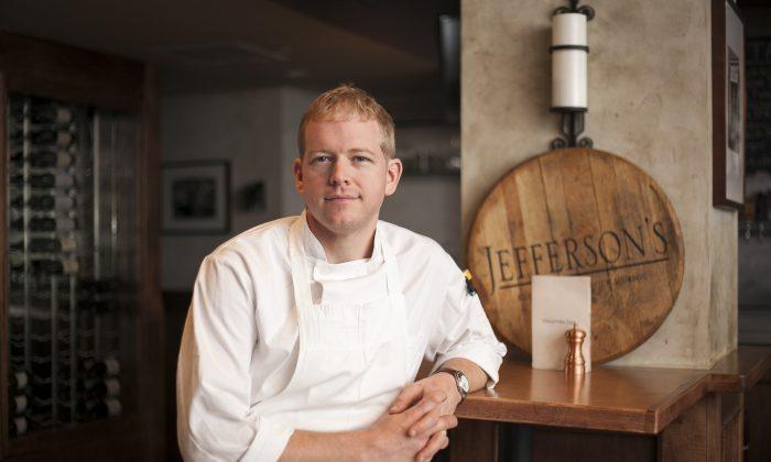 Executive chef Warren Baird of Chapter One. (Samira Bouaou/Epoch Times)