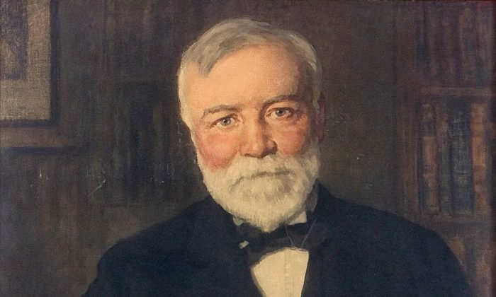 Andrew Carnegie. by F Luis Mora. 1919.