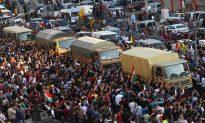 Peshmerga Troops Cheered by Fellow Kurds in Turkey