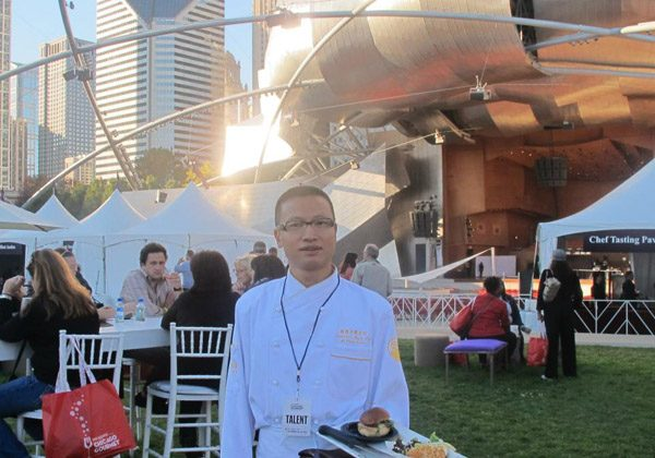 """Tony (Xiaojun) Hu, CEO of the """"Lao"""" restaurants and Tony Gourmet Group, was at 2012 Chicago Gourmet. (Profile image)"""