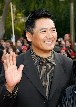 """Actor Chow Yun-Fat attends the premiere of Walt Disney's """"Pirates Of The Caribbean: At World's End"""" held at Disneyland on May 19, 2007 in Anaheim, California.  Proceeds from the world premiere of Walt Disney's """"Pirates Of The Caribbean: At World's End"""" will benefit the Make-A-Wish Foundation of America and Make-A-Wish International.  (Vince Bucci/Getty Images)"""