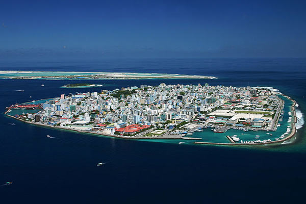 The undated photo shows Male, the capital of the Maldives. (Shahee Ilyas/Creative Commons 3.0)