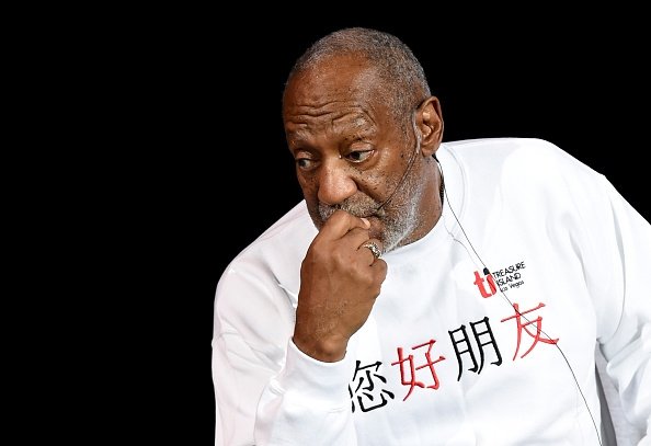 Comedian/actor Bill Cosby performs at the Treasure Island Hotel & Casino on September 26, 2014 in Las Vegas, Nevada. (Getty Images)