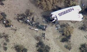 Branson Visits SpaceShipTwo Crash Site: 'We Will Persevere'