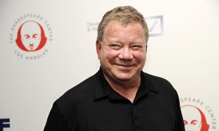 "William Shatner arrives for the 24th annual Simply Shakespeare benefit reading of ""As You Like It,"" in Los Angeles on Sept. 22. (Chris Pizzello/Invision/AP)"