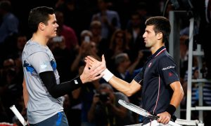 Mission Accomplished for Milos Raonic in Paris