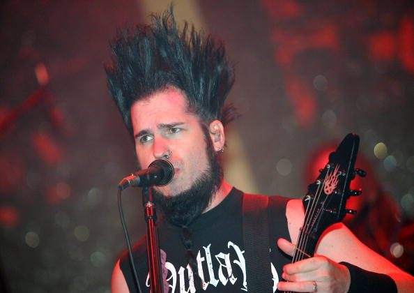 Static-X frontman Wayne Static  (Photo by Ethan Miller/Getty Images)