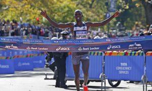 Kenyan Wilson Kipsang, Mary Keitany Win NYC Marathon
