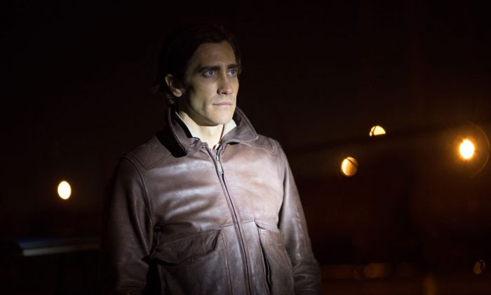 "Jake Gyllenhaal appears in a scene from the film, ""Nightcrawler."" (AP Photo/Open Road Films, Chuck Zlotnick)"