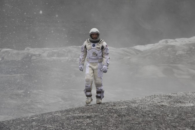 Matthew McConaughey in 'Interstellar.' (Paramount Pictures and Warner Brothers Entertainment.)