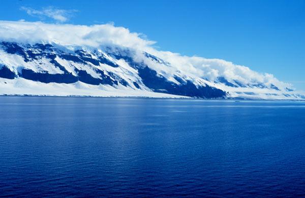 Coulman Island in the Ross Sea. (Michael Van Woert/NOAA)