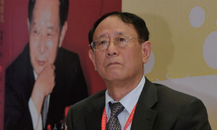 Hu Deping in August 2013. On Oct. 25, Hu was named the new president of the liberal monthly magazine China Through the Ages. (Epoch Times)