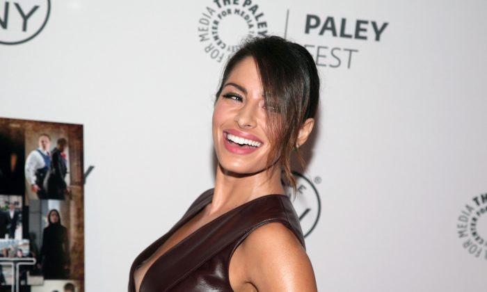"Actress Sarah Shahi attends a screening of ""Person of Interest"" at PaleyFest: Made In NY on Thursday, Oct. 3, 2013 in New York. (Photo by Andy Kropa/Invision/AP)"