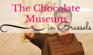 The Chocolate Museum in Brussels
