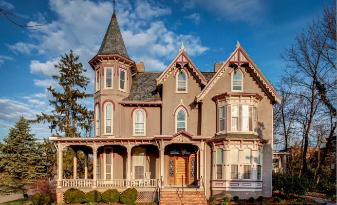 The Joshua Wilton House Restaurant and Inn, Harrisonburg, VA. (The Joshua Wilton House)